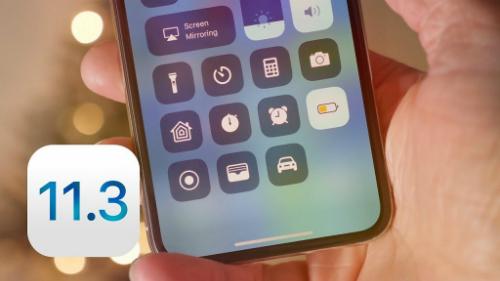 Apple phát hành iOS 11.3, khắc phục scandal về pin