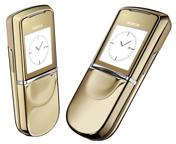 Điện thoại Nokia 8800   Gold ( màu vàng)